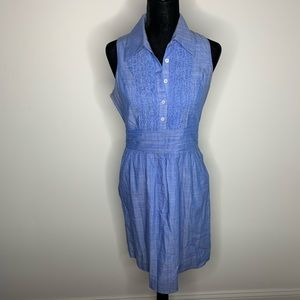 Lily Pulitzer Chambray Essie Shirtdress size 6